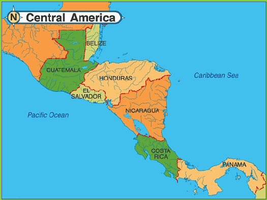 Central America - Overview of a Diverse, Fascinating Region ...